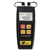 Мини мультиметер волоконно-оптический Мощность метр с прибор для визуального определения повреждения прибор для тестирования(2 в 1
