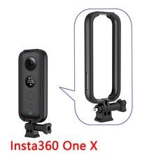 Para Insta 360 One x marco protector de borde estuche protector adaptador de montaje expansión a GoPro accesorios de cámara de acción deportiva