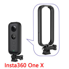 Para a Instabilidade 360 One x Borda do Quadro de Proteção Caso Titular Adaptador de Montagem de Acessórios de Expansão para GoPro Câmera de Ação de Esportes
