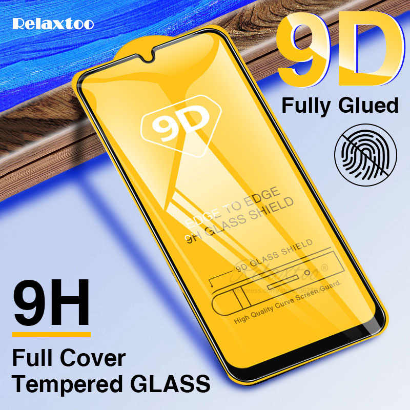 9D Tempered Glass For Samsung Galaxy A10 A20 A30 A40 A50 A20E Screen Protector galax A 10 20 30 40 50 Full glue Protective Film