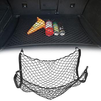 Bagażnik samochodowy siatkowy bagażnik bagażowy do passata cupra saab 9-3 fabia skoda fabia 2 bmw f20 mazda 5 fiat grande punto tanie i dobre opinie Nylon Elastic Storage Mesh Net 0 5cm 65cm Other 0 15kg 50cm Nets Car Accessories Trunk Box Bag Universal Car Trunk Elastic Nylon Net