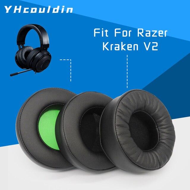 Oreillettes de remplacement pour Razer Kraken 7.1 V2 accessoires pour écouteurs coussinets pour écouteurs