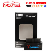 OBD2 Mobil-Detector Diagnostik Alat Super Mini ELM327 OBD2 V1.5 V2.1 Bluetooth Kode Reader Scanner Adaptor OBD II Bluetooth alat(China)