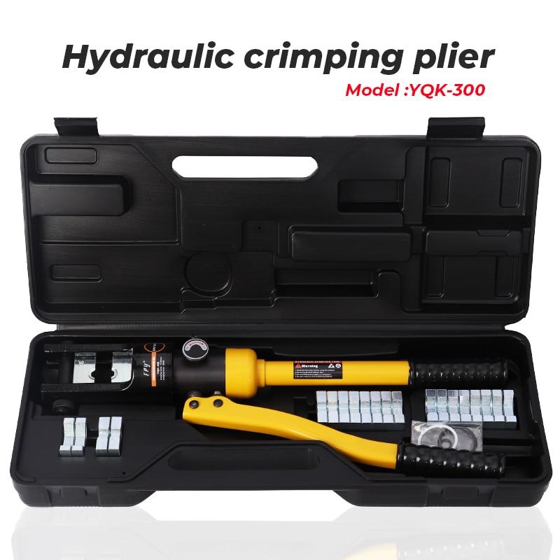 16-300 мм Φ ручной гидравлический шланг обжимные инструменты для пресса CU/AL разъемы