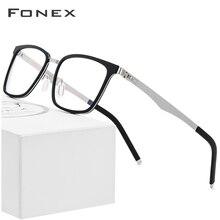 إطار نظارات ماركة فونيكس TR90 للرجال مربع وصفة طبية نظارات جديدة لقصر النظر إطارات النظارات البصرية للنساء بدون مسامير نظارات 516