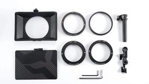 Image 5 - Stokta Tiltaing tilta Mini mat kutu DSLR aynasız tarzı kameralar Tilta lens hood aksesuarları