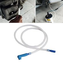 Brake Oil Changer Connector Tool with 1.2m Oil Pumping Pipe for Car Vehicles Kit T3EF