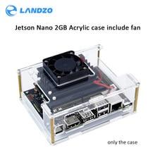 New Nvidia Jetson Nano 2GB Developer kit Clear Acrylic Case for Jetson Nano with Cooling Fan
