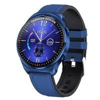 360*360 HD Full Touch Smart Uhr Männer BT Anrufe Download Musik Spielen Smartwatch Sport Wasserdicht Fitness Tracker Uhr 1,32 zoll