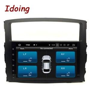 """Image 4 - Idoing 9 """"Android 9.0 di Gps Dellautomobile Player per Mitsubishi Pajero V97 V93 2006 2011 con 8Core 4 gb + 32G Auto Radio Multimedia Navi"""