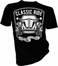 Bug The Classic Ride, Beetle, Vintage Cars Adults & Kids T-Shirt Summer T Shirt Brand Fitness Body Building Homme High Quality