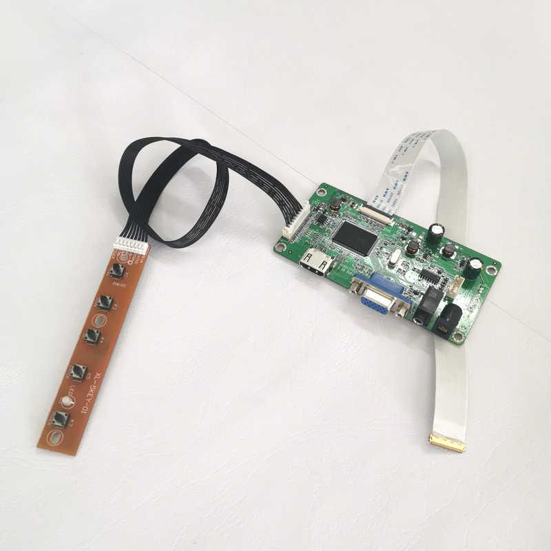 """ل N173FGE-E13 N173FGE-E23 WLED EDP 30 دبابيس 17.3 """"1600*900 HDMI + VGA عرض تحكم محرك مجلس الكمبيوتر الدفتري لوحة DIY كيت"""
