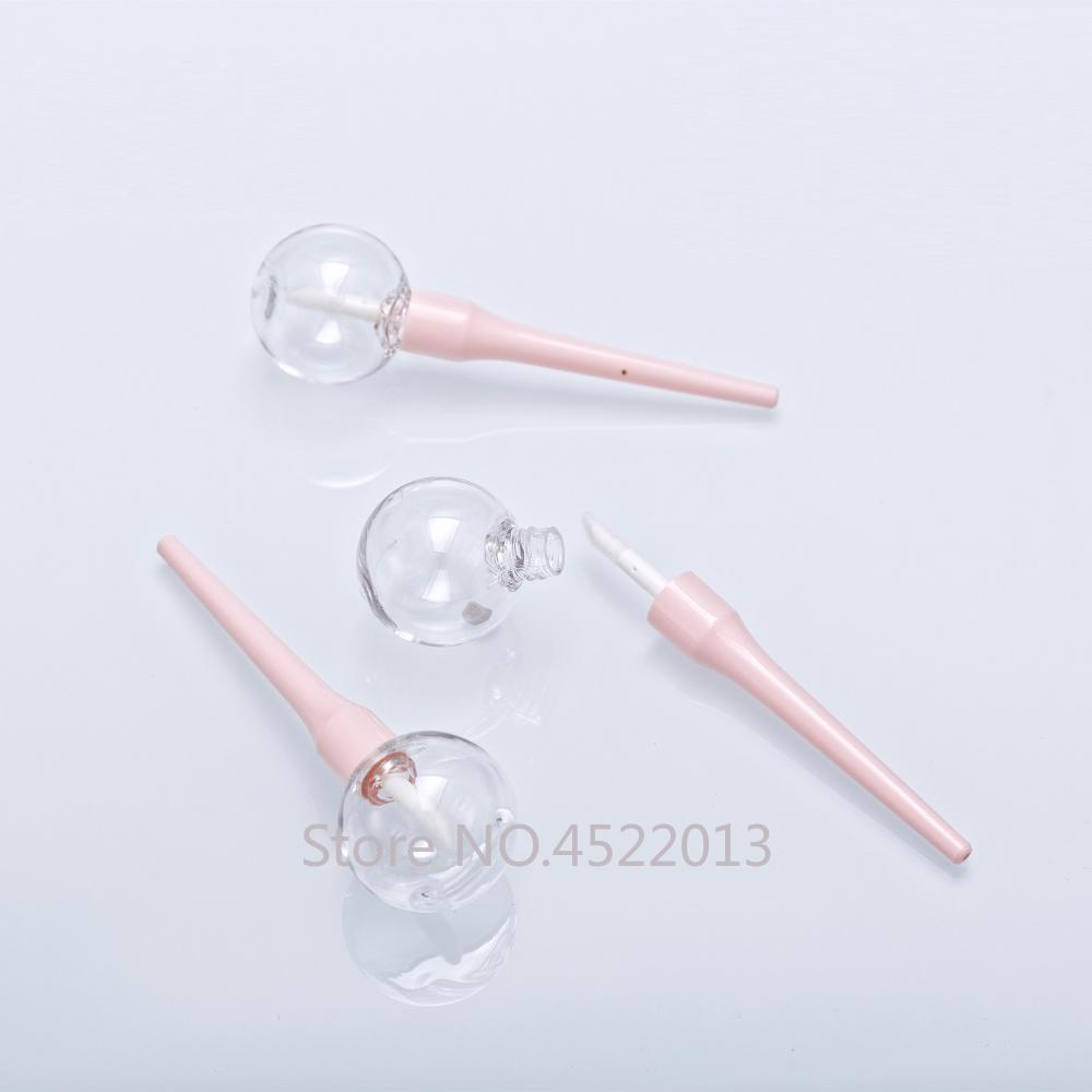10/30/50pcs Lollipop Lipgloss Tube Lip Glaze Bottle Empty Makeup DIY Lip Glaze Homemade Material Lipgloss Container Lip Gloss