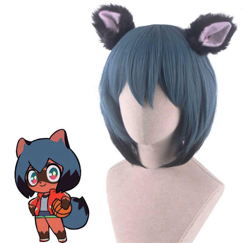Anime Bna Brand New Animal Michiru Kagemori Cosplay Wigs Blue Short High Temperature Fiber Hair Wig Aliexpress