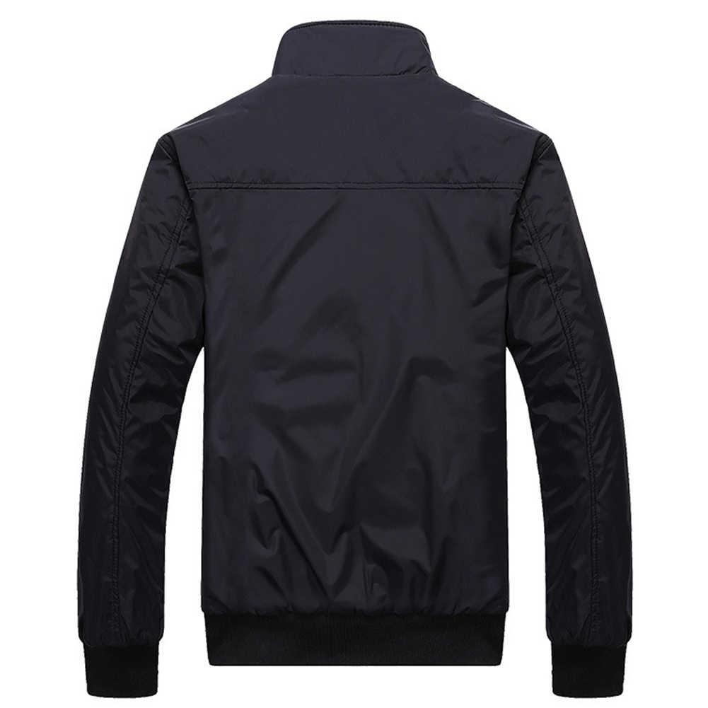 가을 남자 폭격기 비행 파일럿 재킷 남자 Ma-1 비행 재킷 파일럿 공군 남성 육군 군사 오토바이 경주 코트