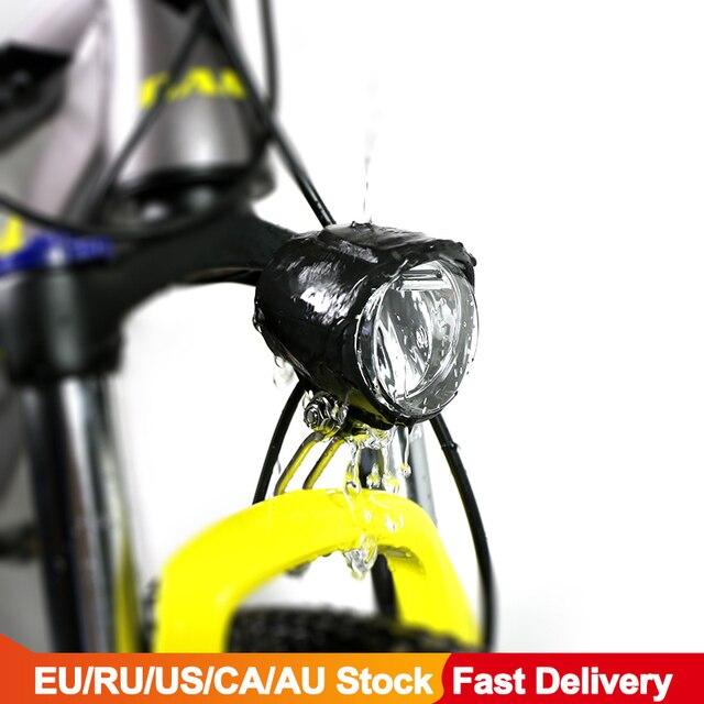 دراجة كهربائية 6 فولت LED الجبهة ضوء 130 سنتيمتر إضاءة مقاومة للمياه ل Bafang eBike BBS BBS01B BBS02B BBSHD منتصف موتور تحويل عدة