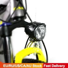 電動自転車 6v ledフロントライト 130 センチメートル防水懐中電灯bafang電動自転車bbs BBS01B BBS02B bbshdミッドモーター変換キット