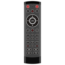 14w ir remote control red T1 Pro Voice Remote Control 2.4G Wireless Air Mouse Voice Control Gyro IR Remote with 2 IR-Learning for Android Tv Box