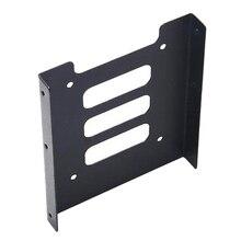 Металл жесткий диск держатель кронштейн 2,5 до 3,5 жесткий диск подставка жесткий диск стойка твердотельный твердотельный диск SSD держатель с 8 винтами
