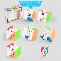 New Arrive MF9310 Cubing Classroom 2 7 Steps Magic Cube Set with Gift Box Packaging for Brain Training cubo magico
