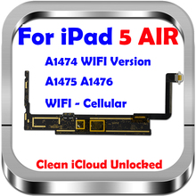 16Gb 32Gb 64Gb 128Gb Originele Ontgrendeld Voor Ipad 5 Logic Boards Wifi Versie Voor Ipad Air 1 Moederbord Met Ios Systeem, a1474