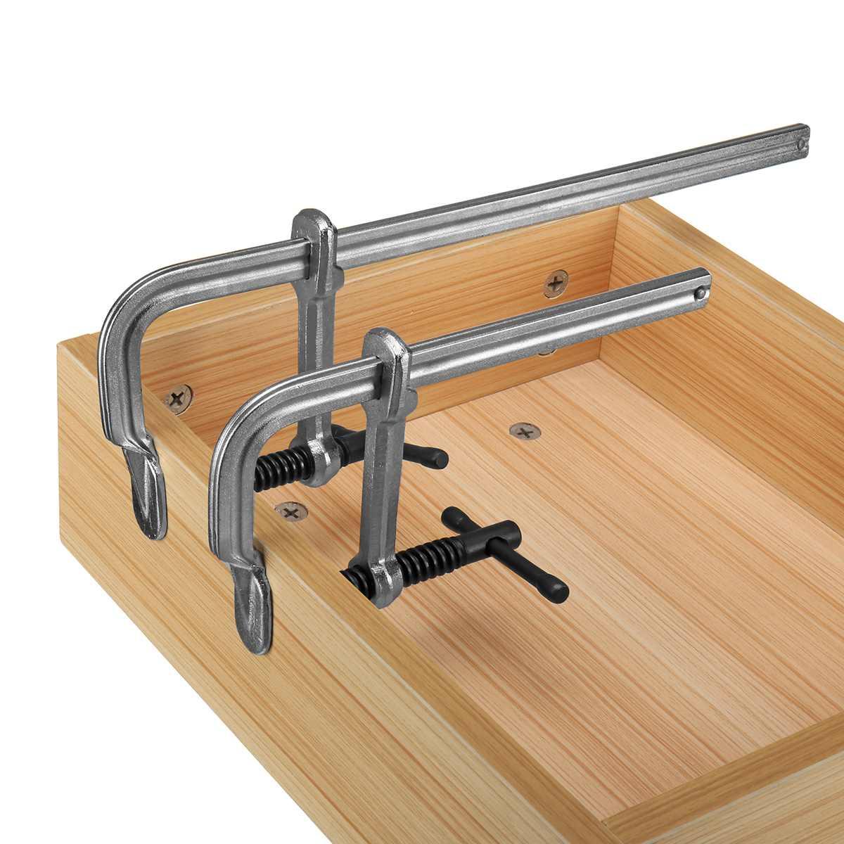 F-образный зажим, сверхмощный ручной инструмент для деревообработки «сделай сам», F-образный зажим, G-образный зажим, быстросъемный Фиксатор ...