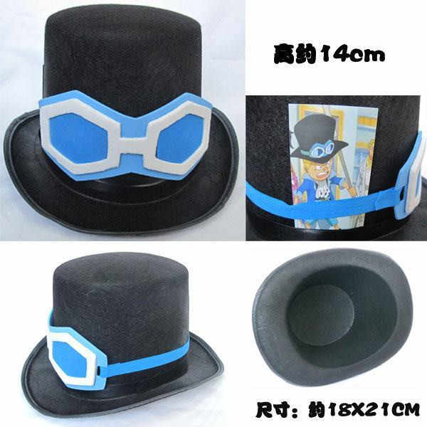 Halloween Anime hats One Piece Sabo hat Cosplay Cowboy men Sun Visor Women Travel Cap Pirates Caps Skull Toys costume Prop