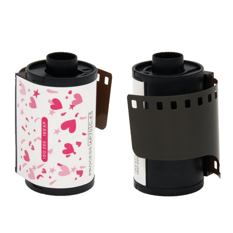 2020 NEW 35mm Color Print Film 135 Format Camera For Lomo Barbie Flower Fairy Sister Waterproof Camera Paper image