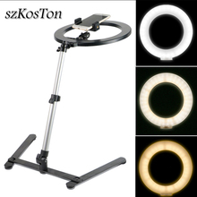 Ring Lamp LED Selfie Ring Light With Cell Phone Holder Stand Phone Camera Studio Fill Light For Youtube Makeup Video photography