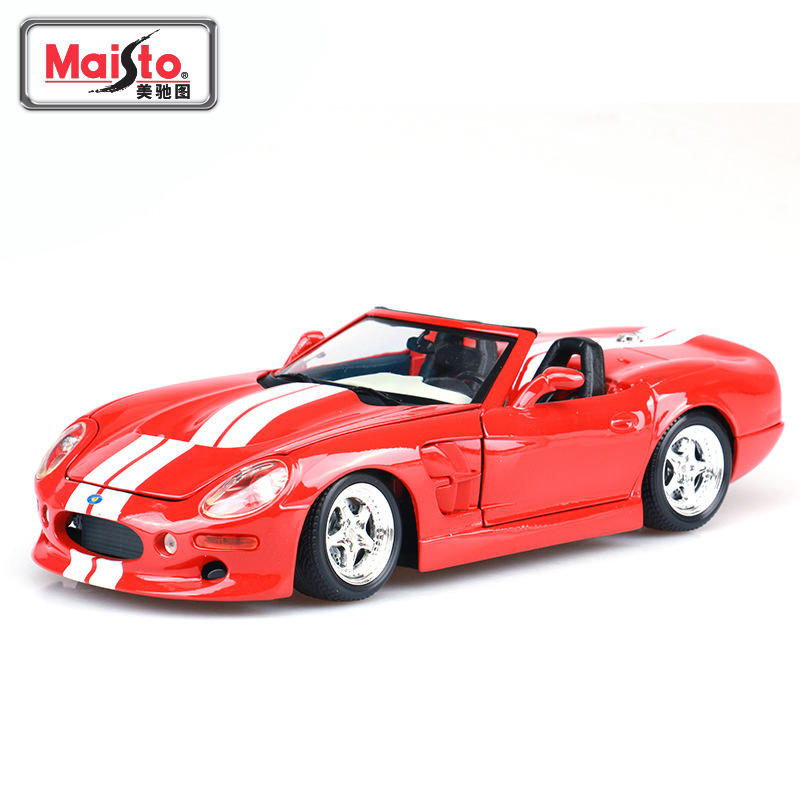 Maisto 1: 18 Model Alloy Car Model Ford Shelby Convertible Sports Car Model Collection Gift