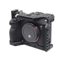 Aluminum Camera Cage for Sony A7R4 Camera Protective Cover Professional Frame Video Stabilizer Mount Accessories