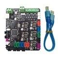 Makerbase 3D основная плата принтера MKS BASE V1.6 интегрированная материнская плата совместимая Mega 2560 и RAMPS 1,4 Плата управления RepRap Mende