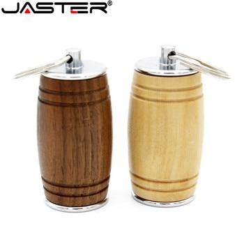 JASTER new Barrel spoon style usb flash drive 4GB 8GB 16GB 32GB 64GB USB 2.0 photography gift pendrive