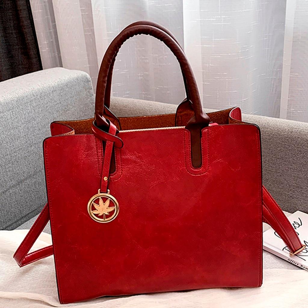 Ensemble sacs 3 pièces mode en cuir PU dames sac à main 72
