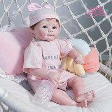 NPK – poupée en Silicone souple de 50CM, Design Original, corps doux, nouveau-né, taille réaliste, toucher réel