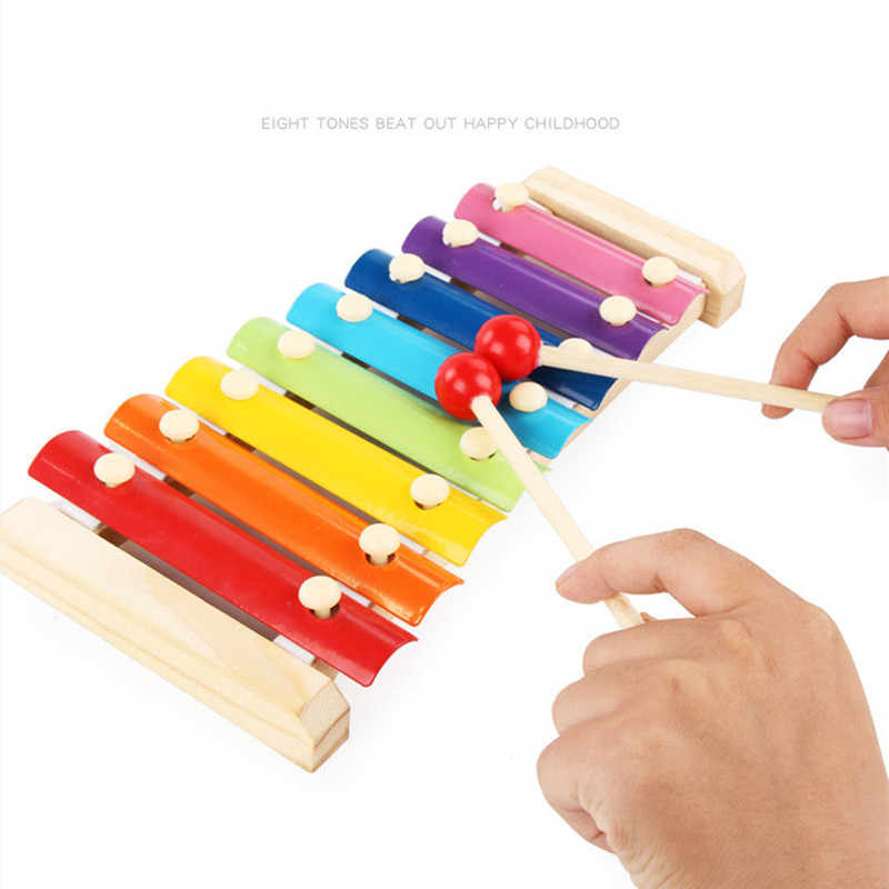 2020 Newest Hot Music Instrument Toy Wooden Frame Style Xylophone Children Kids Musical Funny Toys Baby Educational Toys Gifts