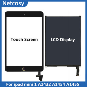 For Ipad mini 1 A1432 A1454 A1455 Touch Screen Digitizer panel +LCD Display Screen repair For ipad mini1 Tablet Display repair(China)