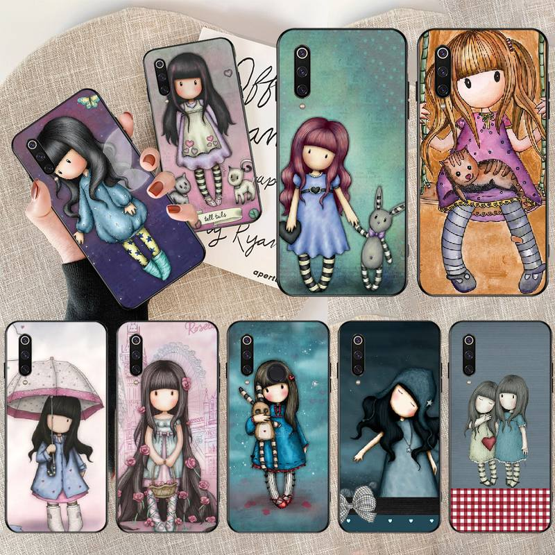 PENGHUWAN Santoro Gorjuss cute cartoon girl DIY Printing Phone Case cover Shell for Xiaomi Mi9 9SE 8SE Pocophone F1 Mi8 Lite(China)