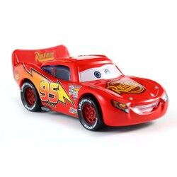 The NewDisney Pixar Cars 3 Lightning McQueen Champion Mater Diecast Metal Alloy Model Car Birthday Gift Toy For Children Boy