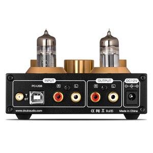 Image 4 - Douk audio HiFi Bluetooth 5.0 Buis Vacuüm Voorversterker USB DAC APTX Thuis Stereo Audio Voorversterker Hoofdtelefoon Amp