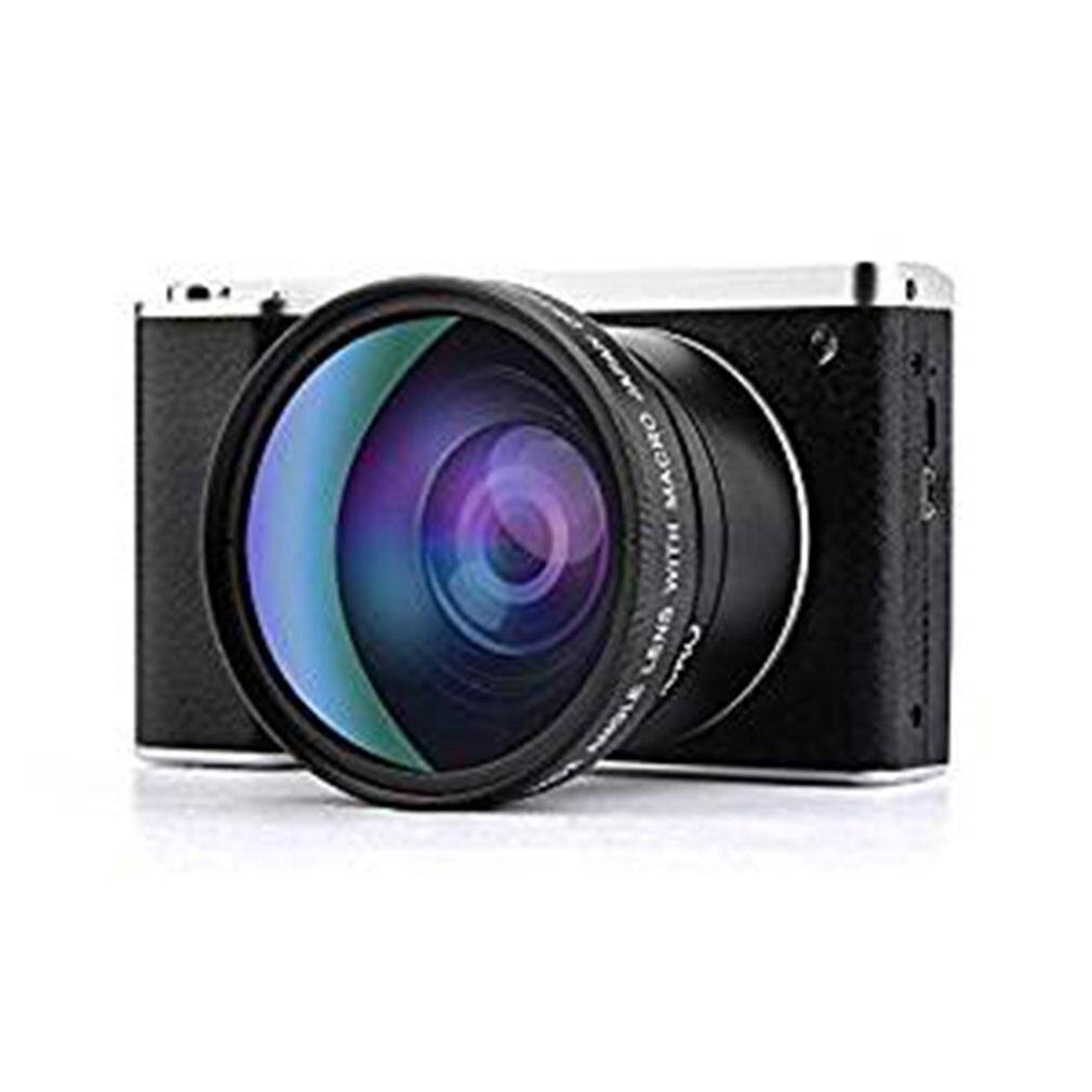 Caméra numérique vlog caméra 4.0 pouces moniteur tactile 24MP FHD 1080P grand Angle objectif caméra 8X caméra Zoom numérique