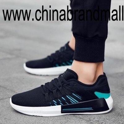 Hommes chaussures d'été décontracté chaussures haut de gamme blanc chaussures à lacets en plein air adulte mâle respirant coussin sueur absorption chaussures