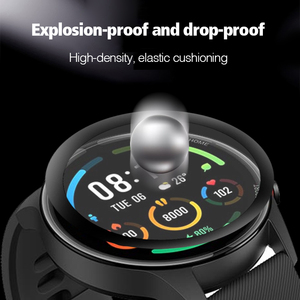 Image 4 - 3D מלא מסך מגן עבור Xiaomi Mi שעון צבע ספורט מהדורת XMWTCL01 Xiomi שעון רך מגן סרט לא מזג זכוכית