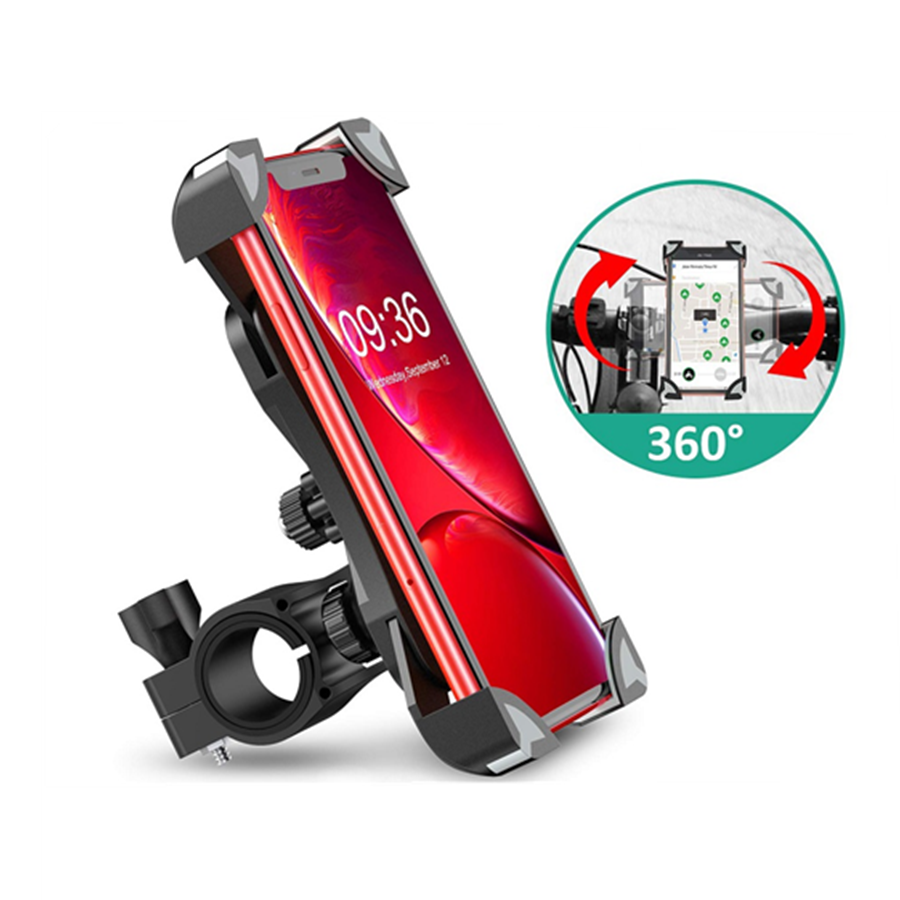 Bicyle Phone Holder For Samsung S10 S9 Motorcycle Handlebar Stand Cell Phone Holder Bike Phone Mount For IPhone X 7 8 Huawei P30