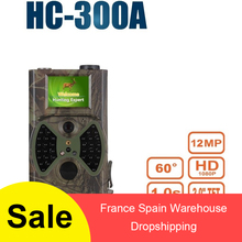 Outdoor  Hc-300a Hd 1080p 12mp Hunting Camera Video Scouting Infrared Night Vision Ir Leds Trail Camera Wildlife Animal Trap цена и фото