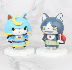 Image 4 - 8pcs/set Yokai Youkai Watch Action Figure Cartoon Toy 8cm PVC Model Doll Kids Gift