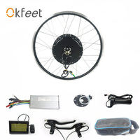 48V 1000W Rear Wheel Hub Motor 26 28 700c Inch Brushless LCD3 Display KT Wuxing Electric Bike Bicycle ebike Conversion Kit