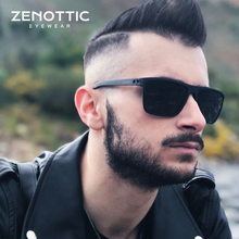 ZENOTTIC TR90 Mens Polarized Sunglasses For Driving UV400 Coating Anti glare Sport Goggles Eyewear Designer Travel Sun Glasses