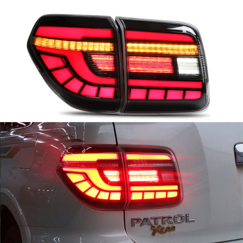 Car Styling Tail Lamp for Nissan Patrol Tail Lights 2008-2019 Tourle LED Tail Light Rear DRL Signal Reverse auto Accessories