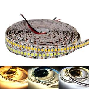 240 светодиодов/м 2835smd светодиодный светильник 12V 4000k витрина лента супер яркий теплый белый